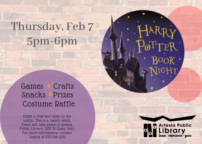 Harry Potter Flyer Book Night 2019
