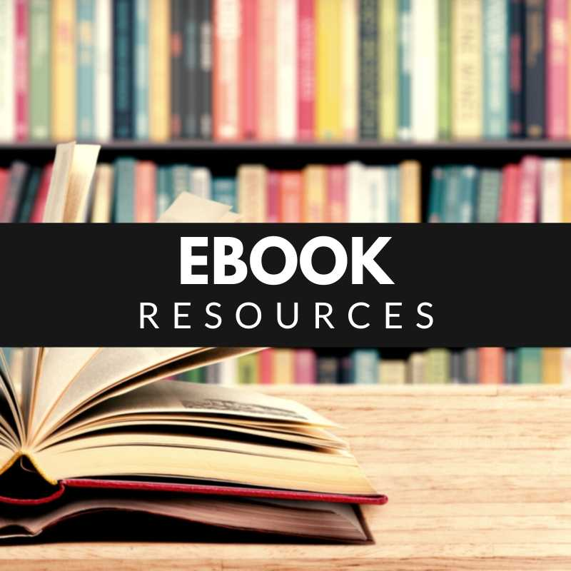 Ebook resources - books