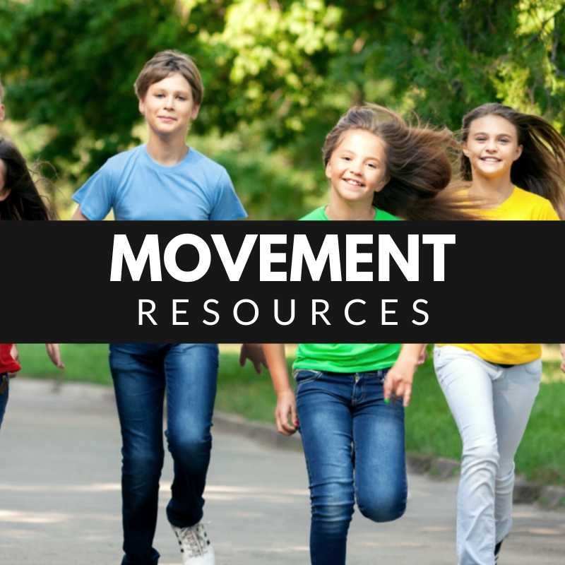 Movement Resources - Children Running