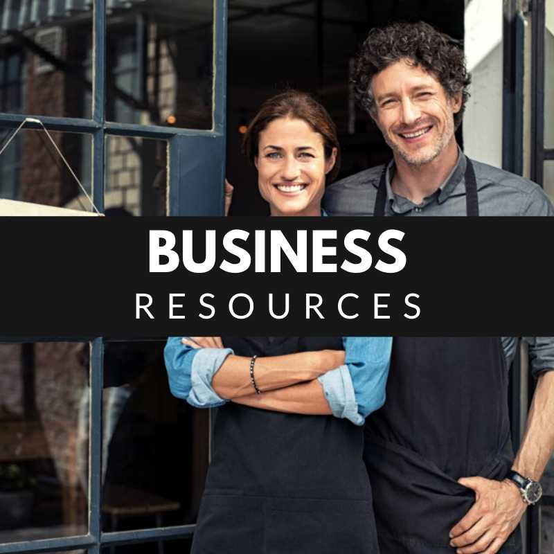 Business Resources - Two store owners