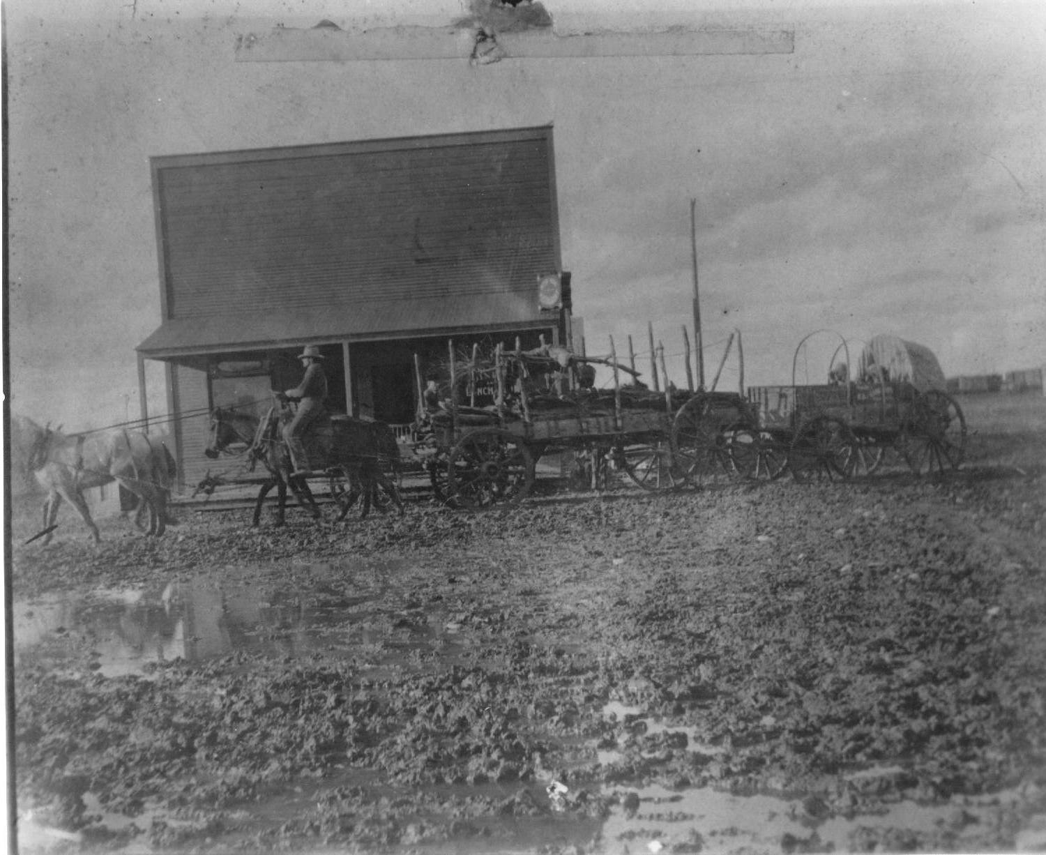 The store at Miller ca 1899