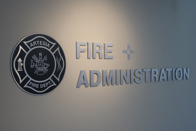 Fire Administration Sign